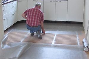 Vloerverwarming In Woonkamer : Flexiheat vloerverwarming vloerverwarming aanleggen
